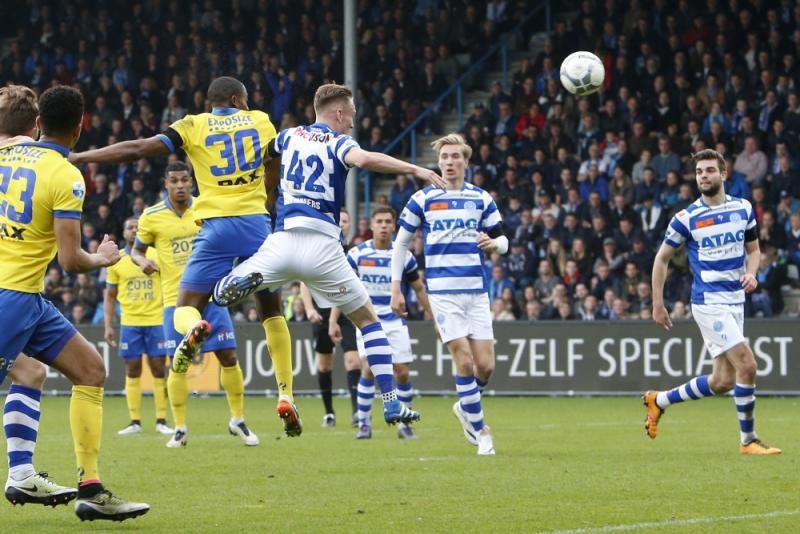 Geen winnaar in degradatiekraker De Graafschap - Cambuur Leeuwarden (Pro Shots/Henk Jan Dijks)