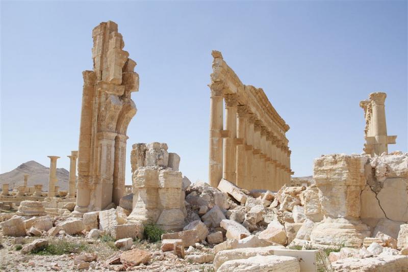 Massagraf gevonden in Palmyra