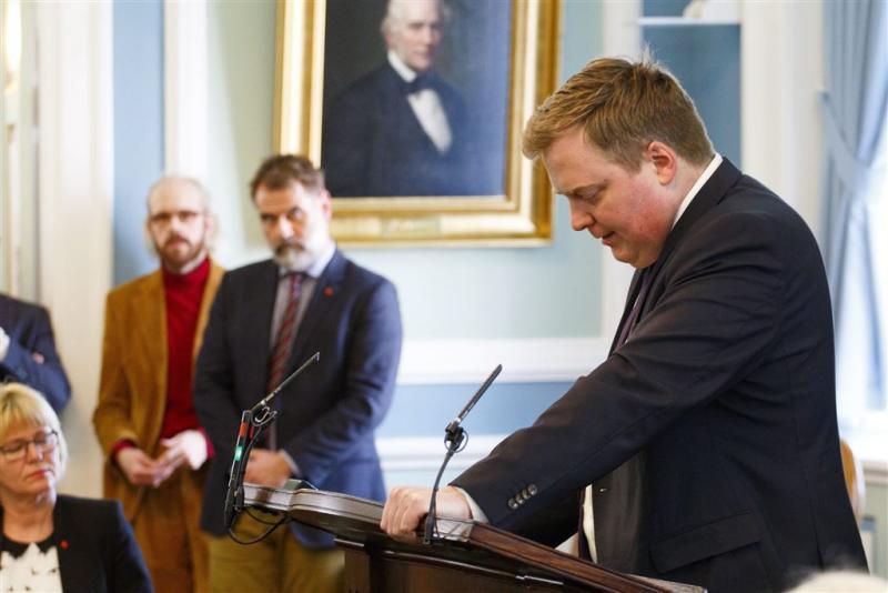 Premier IJsland vertrekt om Panama Papers