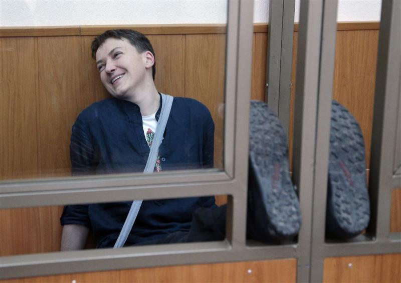 Oekraïense pilote weer in hongerstaking