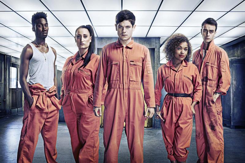 Misfits krijgt Amerikaanse reboot (Foto: Channel 4)