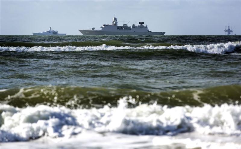 Marine onderschept 250 kilo cocaïne