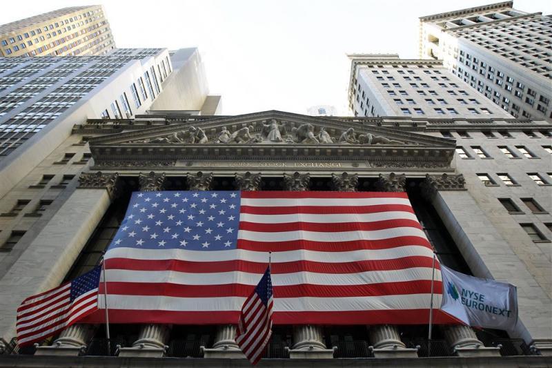Wall Street zet stevige stap terug