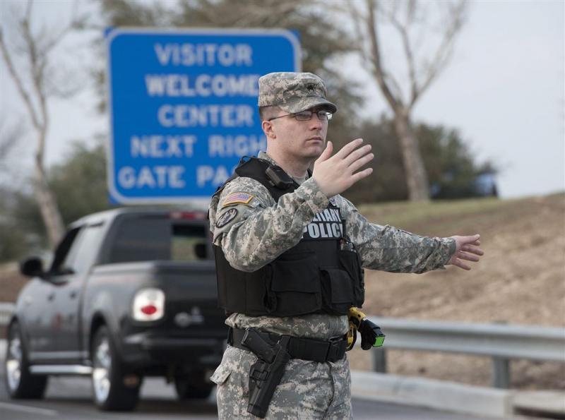 'Schutter bij luchtmachtbasis Texas'