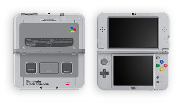 New 3DS XL met Super Famicom-uiterlijk