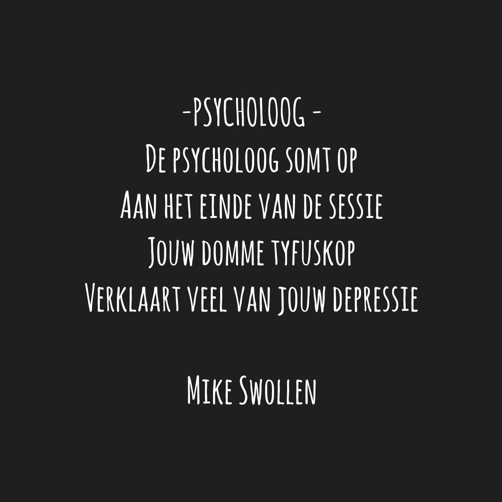 Swollinski gedicht Psycholoog