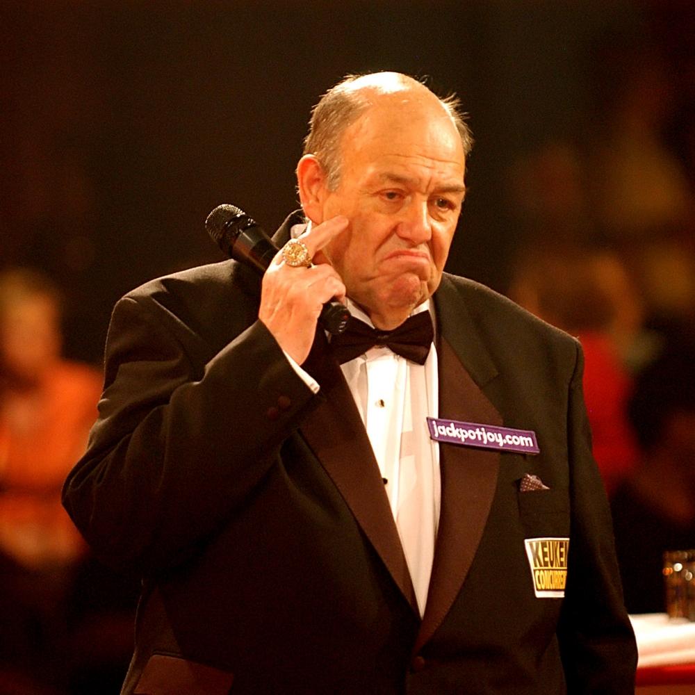 Darts-icoon Fitzmaurice (75) overleden (Pro Shots / Henk Seppen)