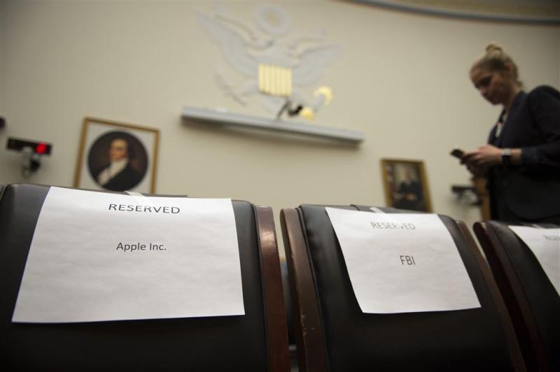 FBI en Apple getuigen weer voor Congres
