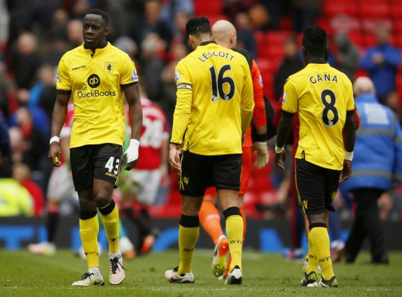 Spelers Aston Villa teleurgesteld na degradatie uit Premier League (Pro Shots/Action Images)