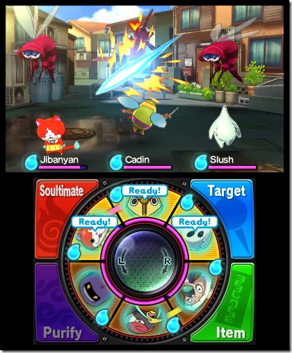 Yo-Kai Watch gevecht