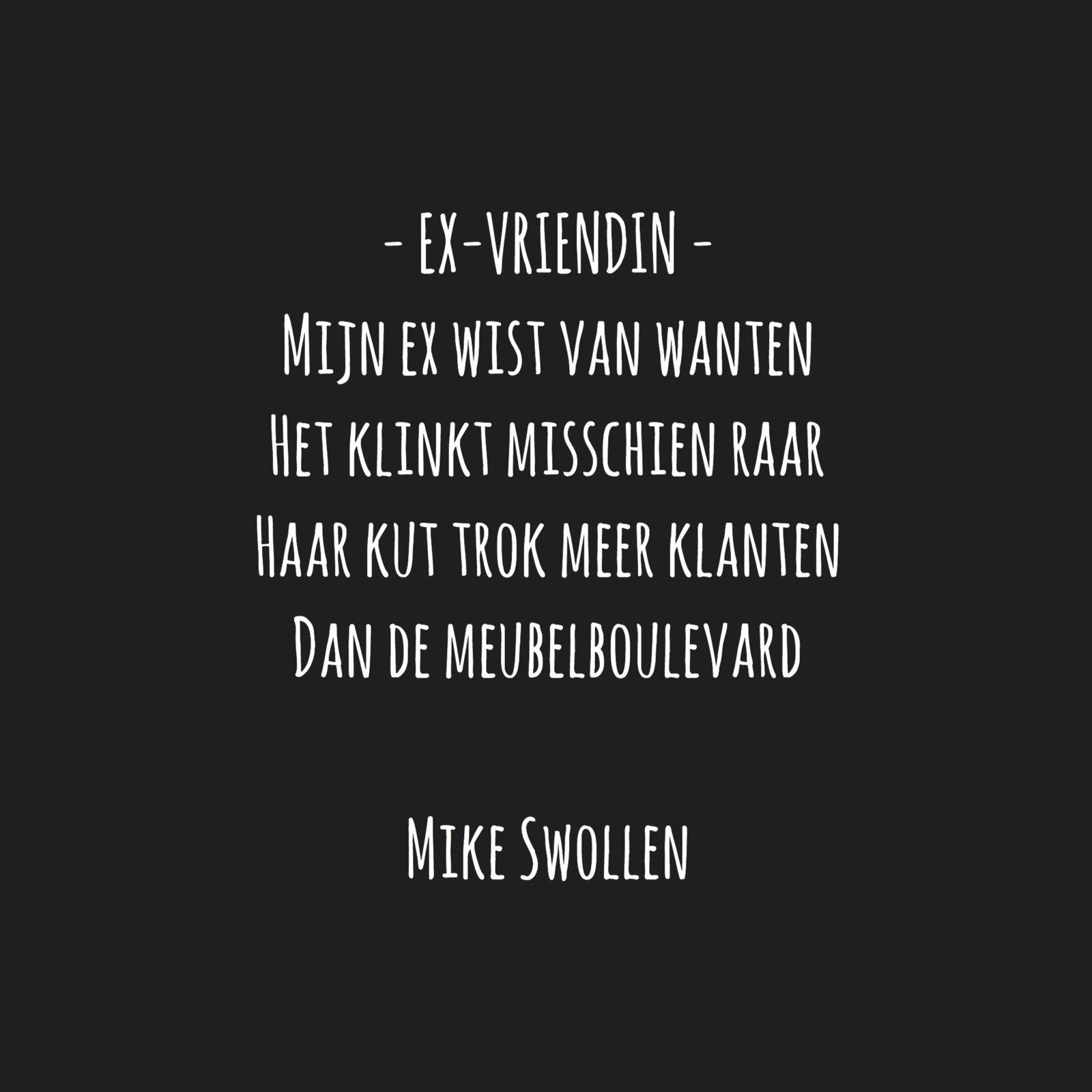 New FOK.nl / Weblog / Gedicht van de dag: Ex-vriendin @FD94