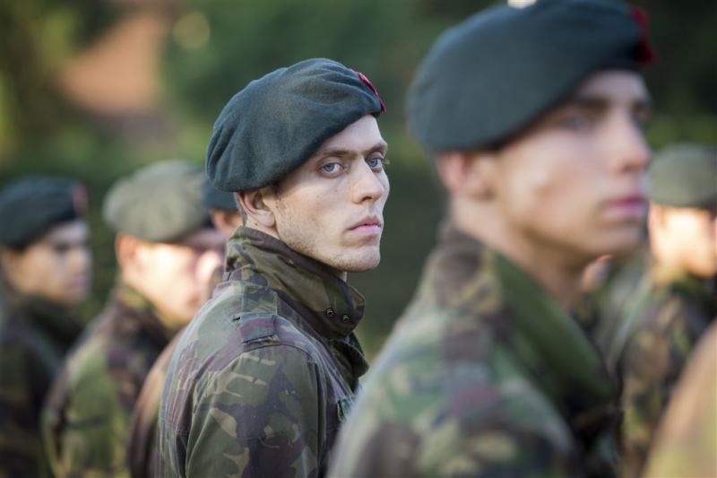 'Alleen voornaam op militair uniform'
