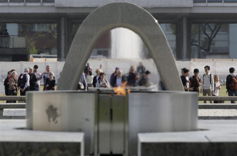 'Obama bezoekt Hiroshima'