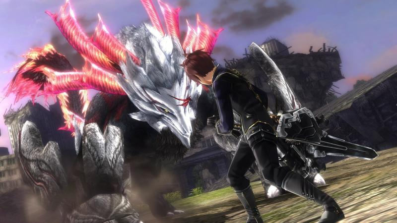 God Eater 2 Rage Burst preview april