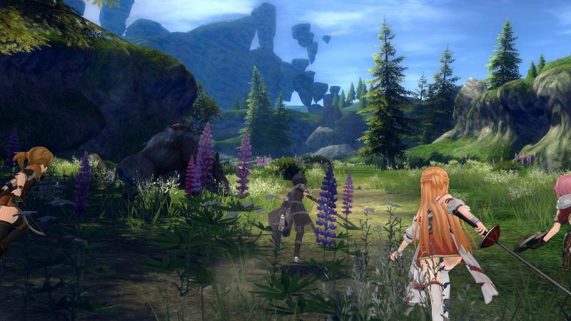 Sword Art Online: Hollow Realization - preview april