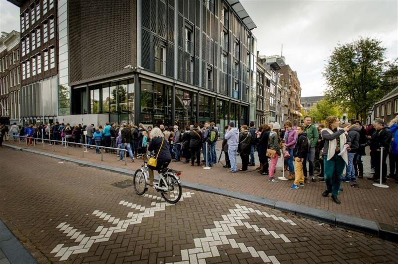 Anne Frank Huis doet iets aan lange rijen