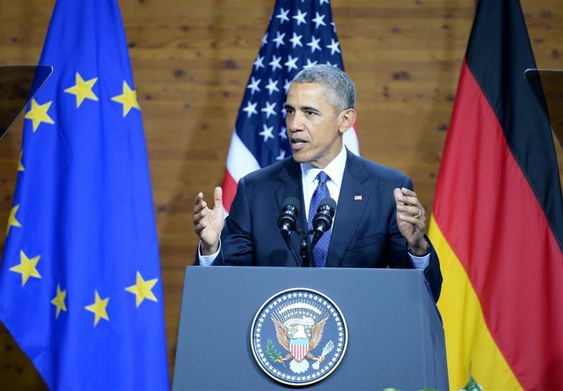 Obama pleit opnieuw voor Europese eenheid