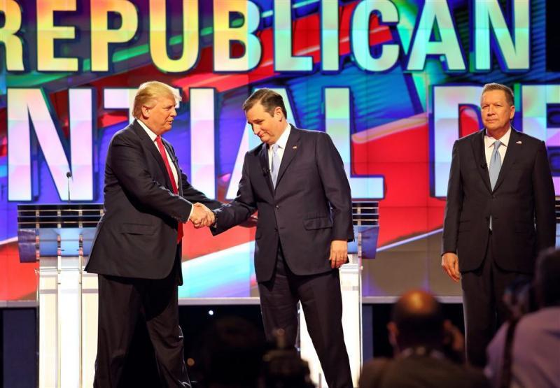 Cruz en Kasich slaan handen ineen