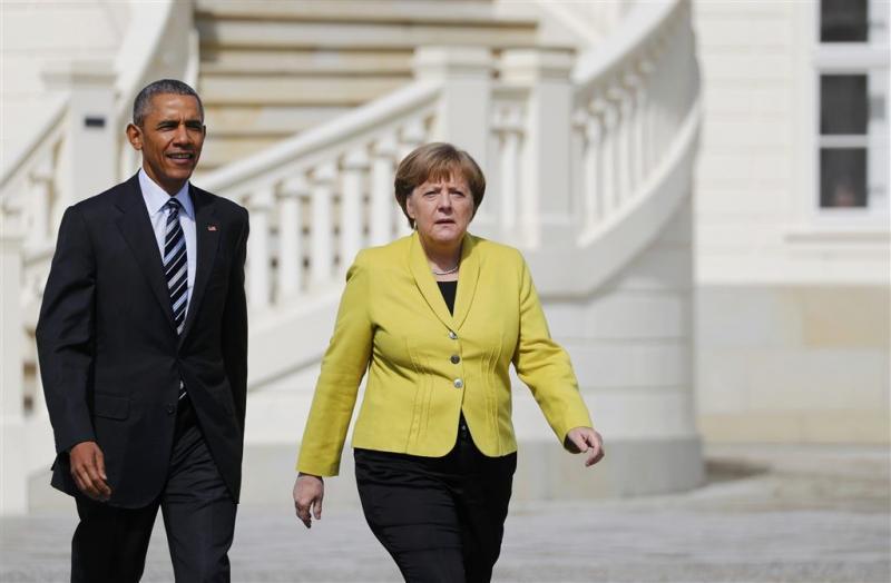 Minitop Obama en Europese leiders