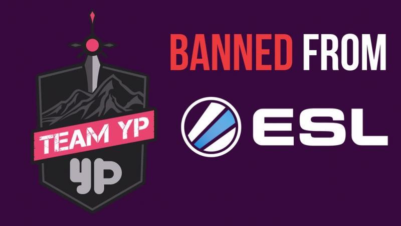ESL YouPorn ban Team YP
