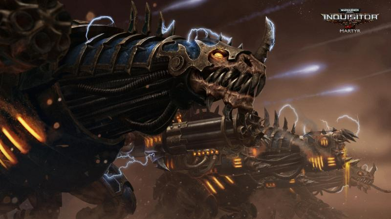 Warhammer 40K - twee Forgefiends en een Maulerfiend