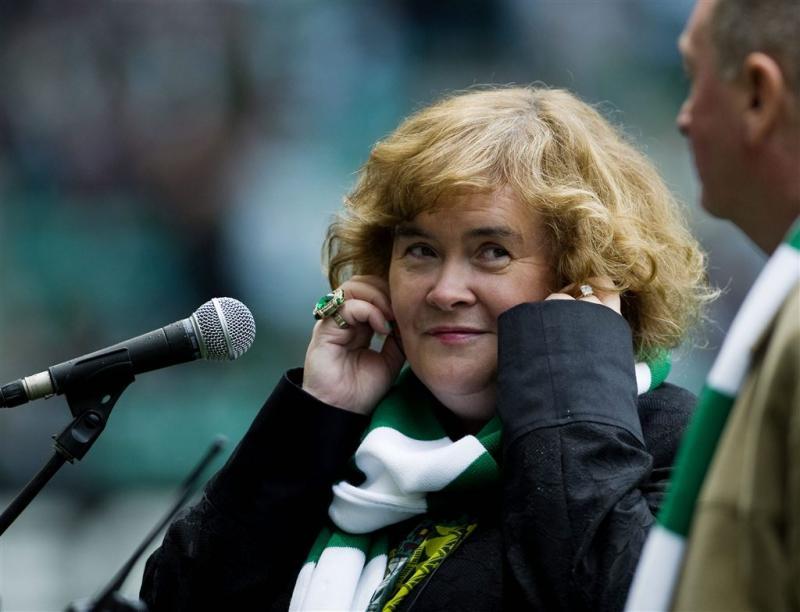 Susan Boyle verwijderd van Heathrow