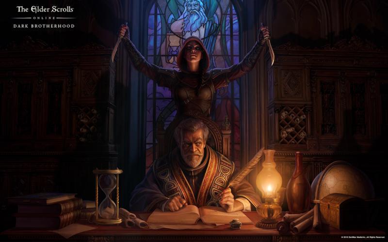 The Elder Scrolls Online: Dark Brotherhood artwork (Foto: Bethesda)