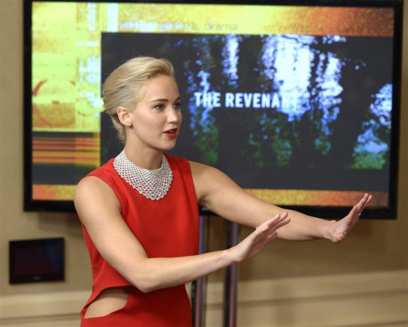 Jennifer Lawrence heeft geen liefdesleven