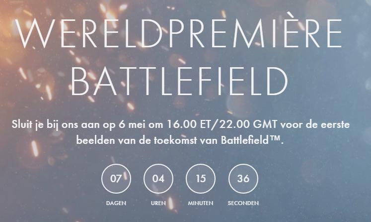 Battlefieldaankondiging