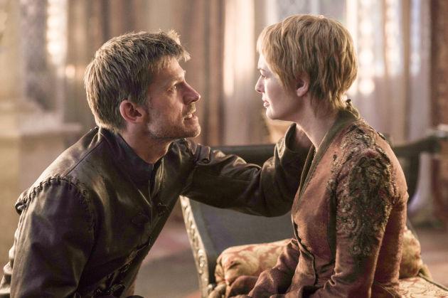 Game of Thrones 6X01 Jaime en Cersei