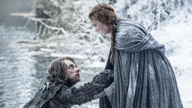 Game of Thrones 6X01 Reek & Sansa