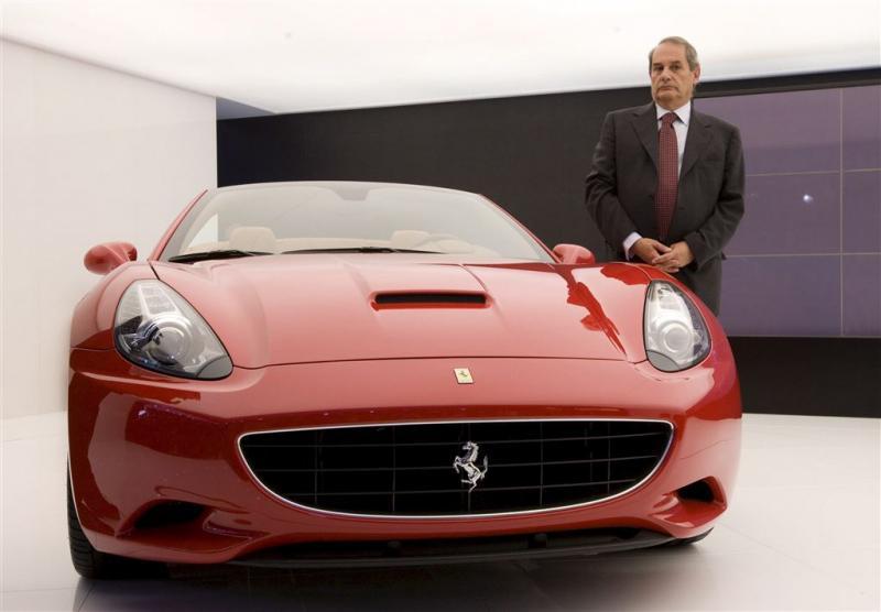 Topman Ferrari zwaait af na sterk kwartaal