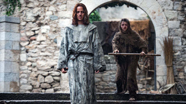 Game of Thrones 6X02 Arya en Faceless Man
