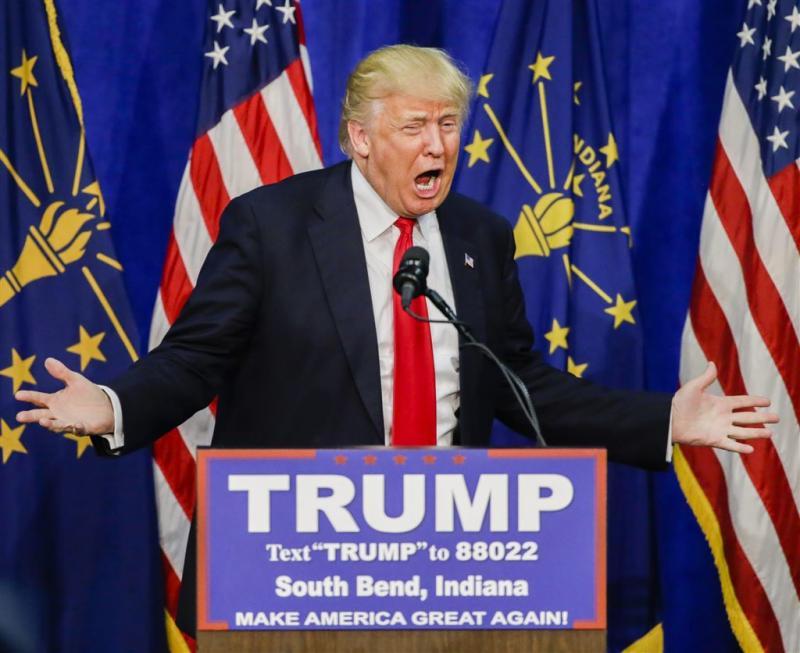 'Trump verslaat Cruz in Indiana'