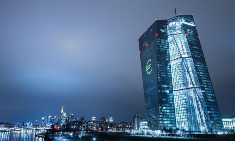 ECB: turbulentie financiële markten afgenomen