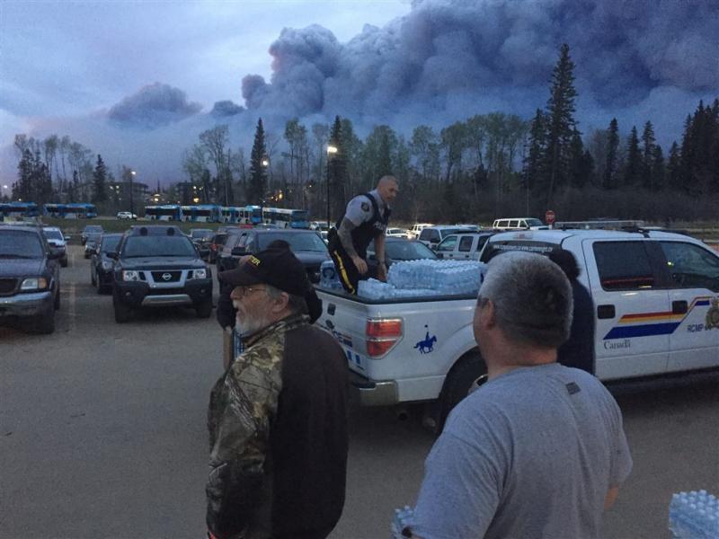 Canadese bosbrand groeit door