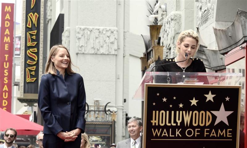 Jodie Foster krijgt ster op Walk of Fame