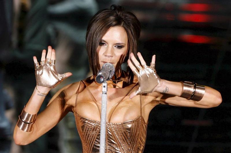 Victoria Beckham zong niet met Spice Girls