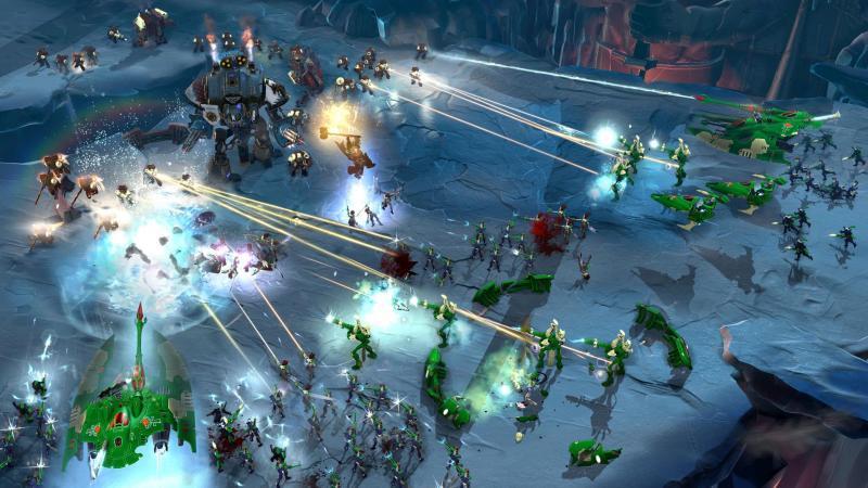 Warhammer 40k: Dawn of War III - gameplay - 2