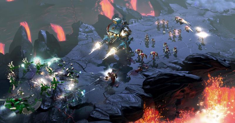Warhammer 40k: Dawn of War III - gameplay - 1
