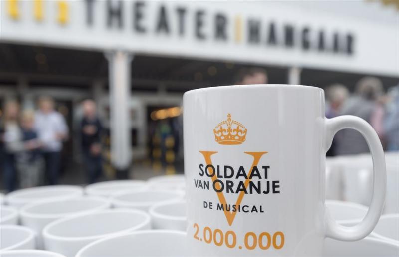 Twee miljoen mensen zagen Soldaat van Oranje