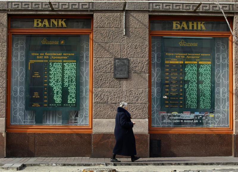 Economie Oekraïne krabbelt op