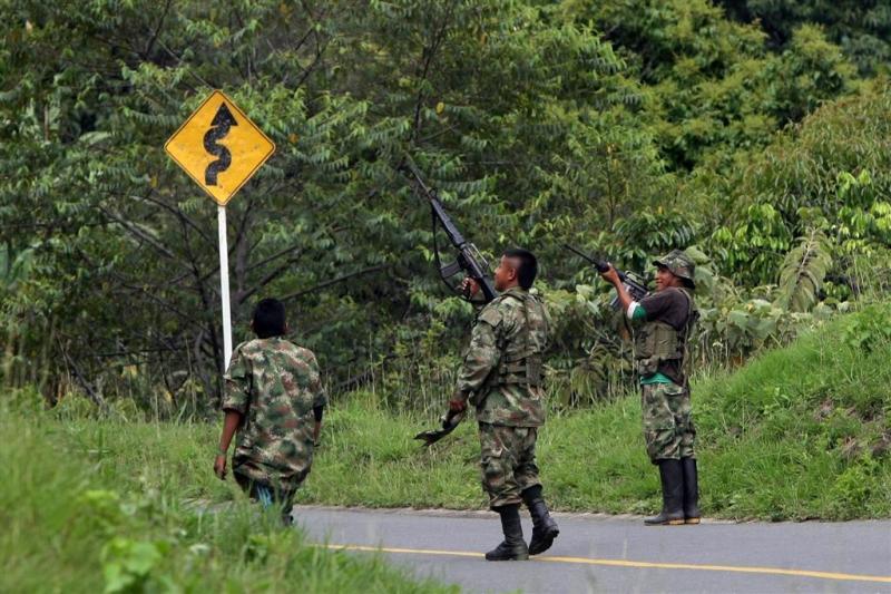 Kinderen FARC gaan rebellenkamp verlaten