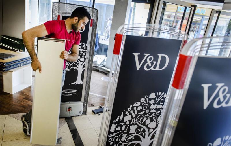 Oude V&D's worden tijdelijk woonwinkels