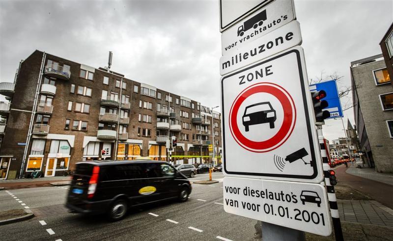 'Nog geen bewijs dat milieuzone werkt'