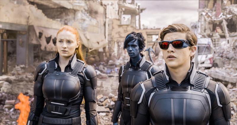 X-Men: Apocalypse: Sophie Turner, Kodi Smit-McPhee en Evan Peters
