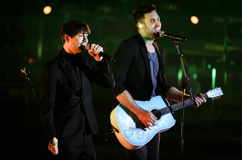 Songfestival past niet in agenda Nick & Simon