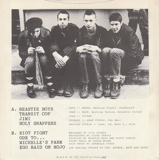 Beastie Boys - Polly Wog Stew EP