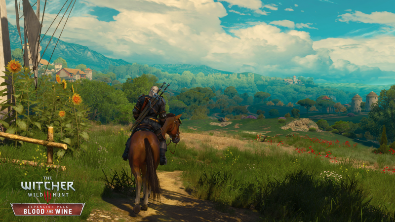 the Witcher 3 - Blood & Wine - screen 3