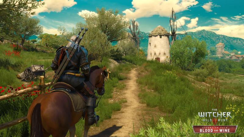 the Witcher 3 - Blood & Wine - screen 1